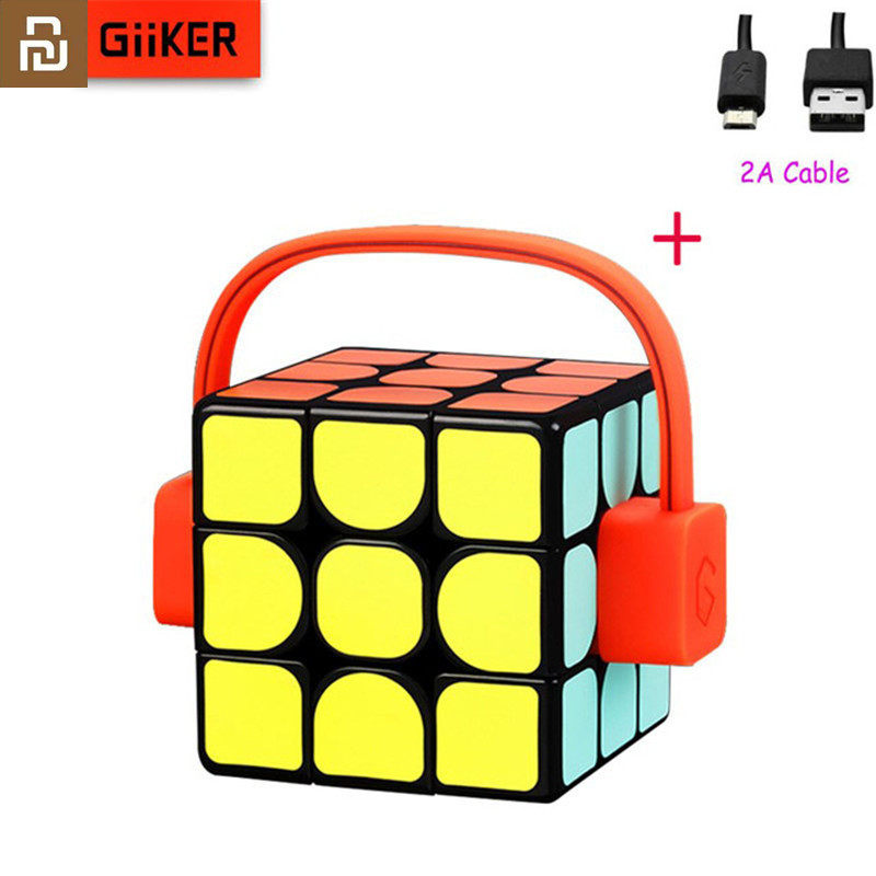 Youpin Giiker super smart cube App remote comntrol Professional Magic Cube Puzzles Colorful Educational Toys For man,womenSmart Remote Control   -