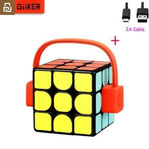 Image 1 - Youpin Giiker super smart cube App remote comntrol, профессиональный магический куб, пазлы, красочные Развивающие игрушки для мужчин и женщин