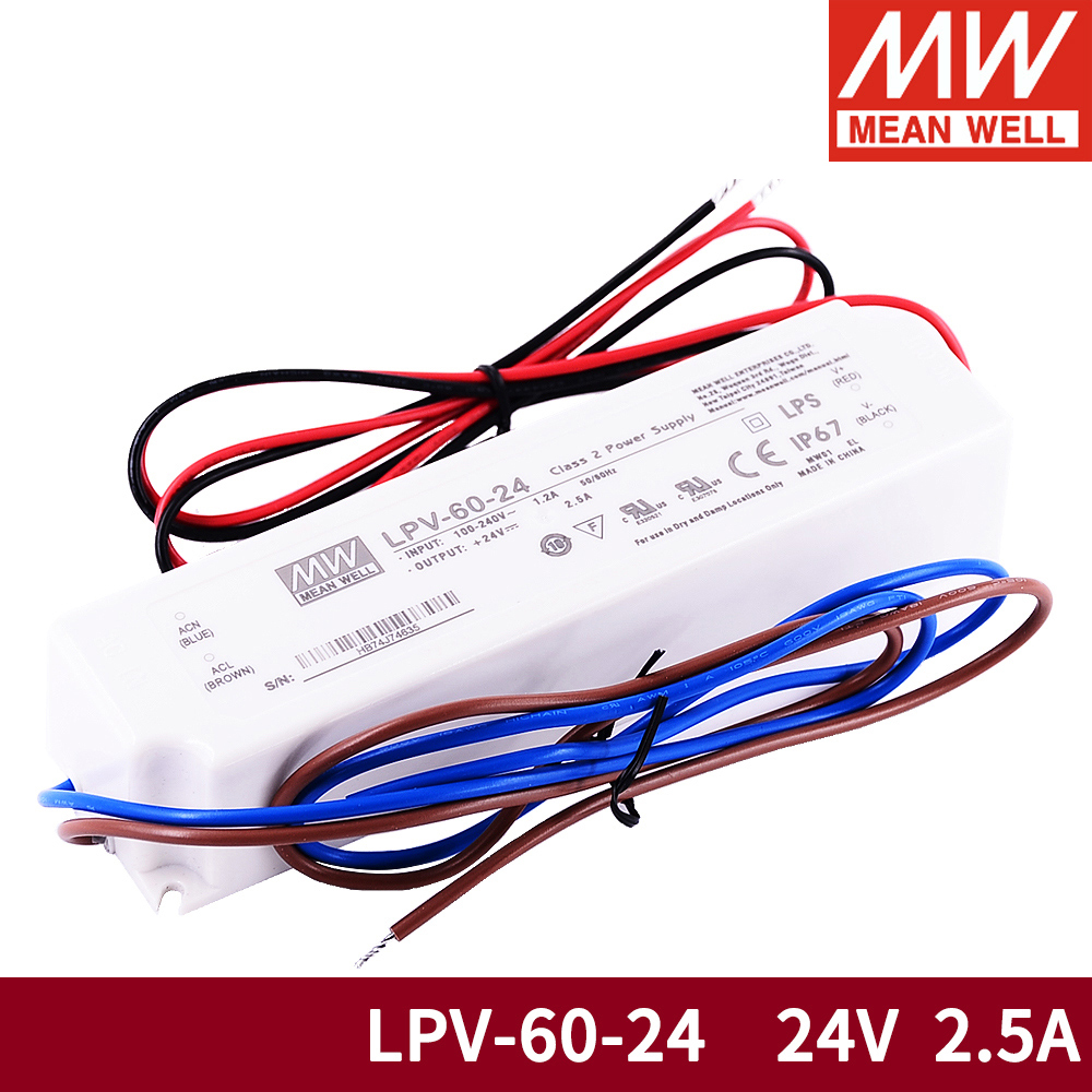 PowerNex Mean Well PLM-25-700 36V 0.7A 25.2W Single Output LED Power Supply with PFC
