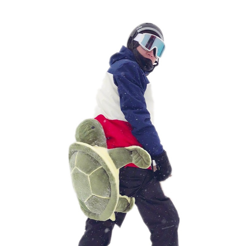 Ski Protector Hip Pad Small Turtle Adult Single Plate Armor Equipment Children Men Women Knee Pad Ass Anti-fall Knee Sleeve