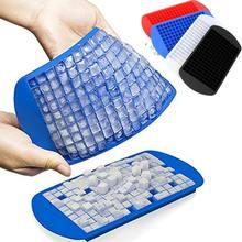 Лоток для кубиков льда 160 сеток 24x12 см, силиконовая форма для кубиков льда с фруктами, сделай сам, креативный маленький кубик льда, форма квад...