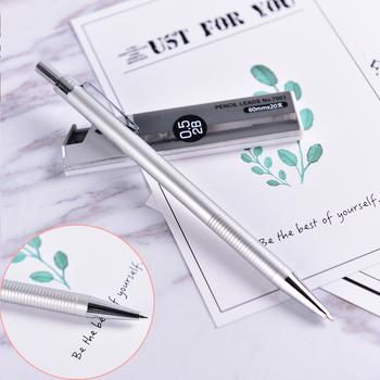 0 5mm ołówek automatyczny zestaw Kawaii szkolne materiały biurowe szkolne materiały papiernicze artysta farba naciśnij ołówek automatyczny dla dzieci pisanie tanie i dobre opinie KOQZM CN (pochodzenie) Mechanical Pencil set