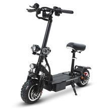 GUNAI Electric Scooter 60V26Ah Front and rear shock absorption 11 inch double drive Marquee with Key switch 40A+40A controller