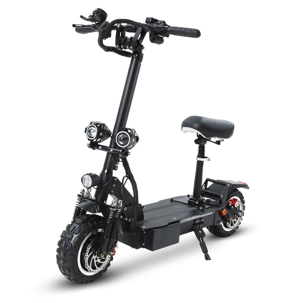 GUNAI  Electric Scooter 60V24Ah Front and rear shock absorption 11 inch double drive Marquee with Key switch 40A+40A controller