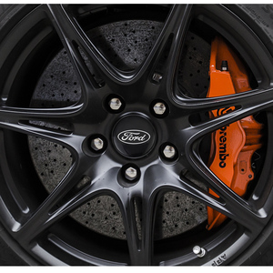 4 шт., металлические наклейки на автомобильные колеса, Эмблема для крышки ступицы автомобиля, значок для Ford Focus Mondeo Fiesta Ranger Mustang Fusion Everest S MAX Kuga|Наклейки на автомобиль|   | АлиЭкспресс