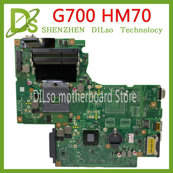 KEFU G700  for Lenovo G700 laptop motherboard BAMBI mainboard HM70 USB3.0 11SN0B5M11 11S90003042 original mainboard