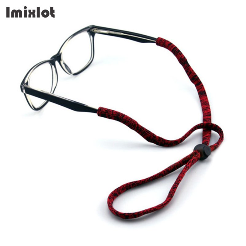Elastic Eyeglasses Cord Adjustable Glasses Lanyards Neck String Cord Retainer Strap Head Band Glasses Rope Sunglasses Accessory