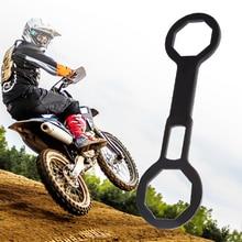 オートバイフォークキャップレンチ 46 ミリメートル & 50 ミリメートルホンダ CR250R Kawasaki スズキ KX250 RM250 などバイクオートバイアクセサリー