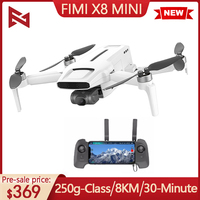 FIMI-Mini Dron con cámara y GPS, cuadricóptero 250g-Class, 8km, 4k, Helicóptero De Control Remoto