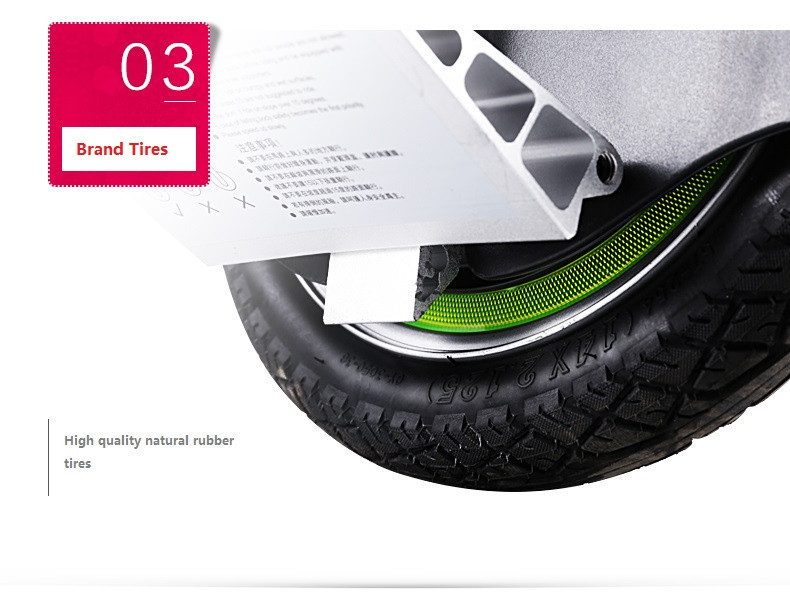 Daibot Electric Hoverboard 14 Inch One Wheel Self Balancing Scooters 350W 60V Electric Unicycle Scooter With HandleBluetooth (8)
