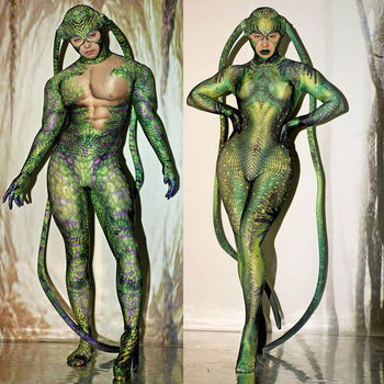 Housefly Jumpsuit Nightclub Bar Cosplay Costumes Halloween Party Role Play Sexy Dance Performance Clothes Bodysuit Stage Outfit недорого