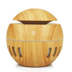 Aromatherapy Machine Wooden Fragrance Machine Ultrasonic Humidifier Essential Oil Energy-Saving Portable