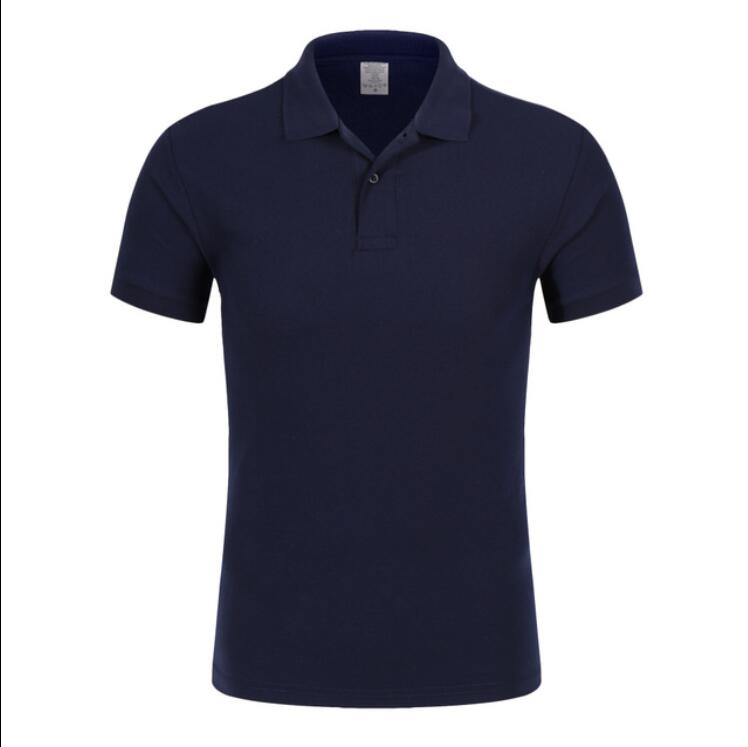 ZNG 2020 New Printed Lapels Stripes Men' Business Casual Polo Luxury High Quality Cotton Short Sleeve Polo Shirt