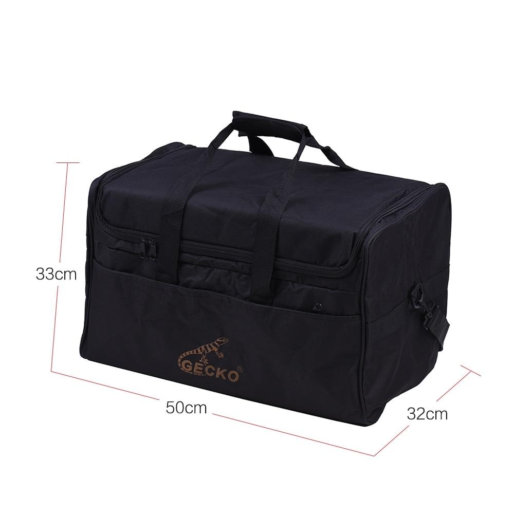 Hot Sale GECKO L03 Standard Cajon Box Drum Bag Backpack Case 600D 5MM Cotton Padding With Carry Handle Shoulder Strap