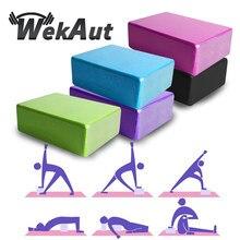 2 adet Yoga tuğla Eva Yoga bloğu renkli köpük blok Bolster Yoga egzersiz egzersiz eğitimi vücut geliştirme ekipmanları Yoga minderi