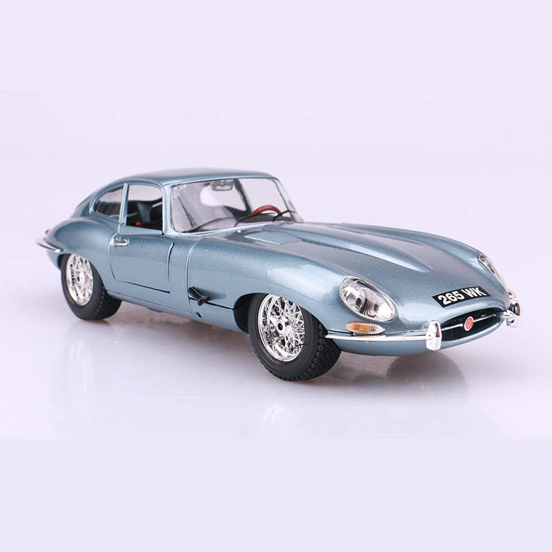 <font><b>1:18</b></font> E-type Coupe Convertible Car Alloy Diecast Model Cars Static Simulation Mini Metal Car Miniatures <font><b>Voiture</b></font> Collection Toys image