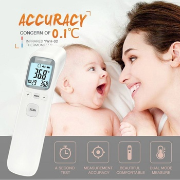 1Pc Digital Thermometer Infrared Baby Adult Forehead Non-Contact Infrared Thermometer With Lcd Backlight Termometro Infravermelh