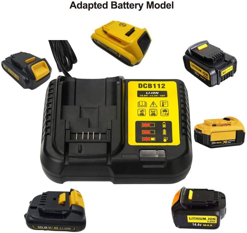 DCB112 Replacement Li-Ion Battery Charger for Dewalt 12 V 14.4V 18V Lithium Cells Battery Charger Beast price!