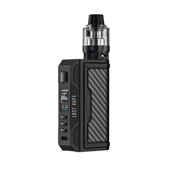 Lost Vape Thelema Quest – Kit de vapotage 200W avec réservoir 5ml UB Pro, boîte 18650 Mod TC, système à flux d'air réglable, vaporisateur pour cigarettes électroniques
