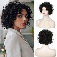 Женские длинные парики на плечо набор вьющихся волос с грушевидными