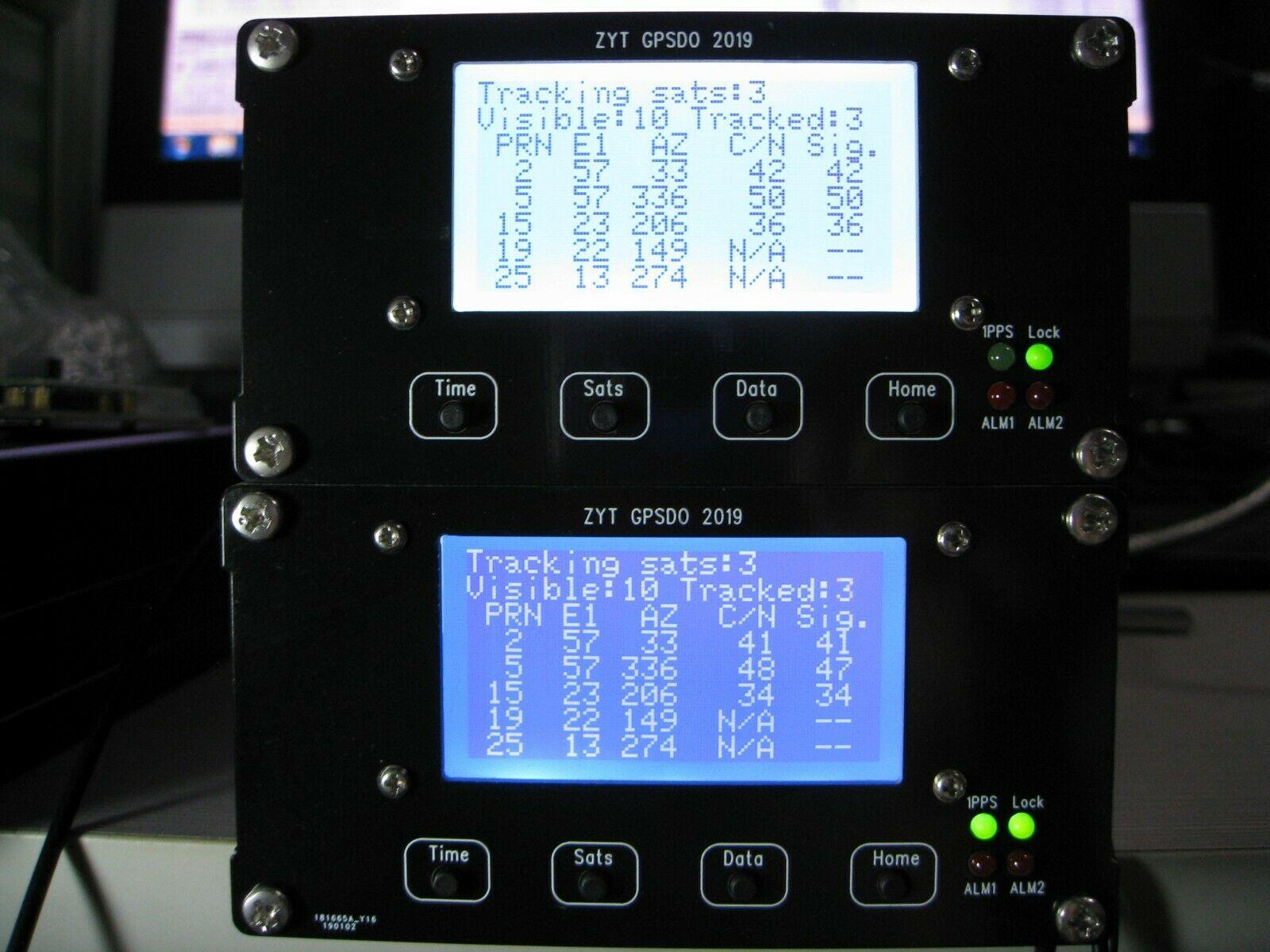 Free shipping 2019 Symmetricom LCD GPSDO 10MHz 1PPS OCXO GPS Disciplined Oscillator UTC Time