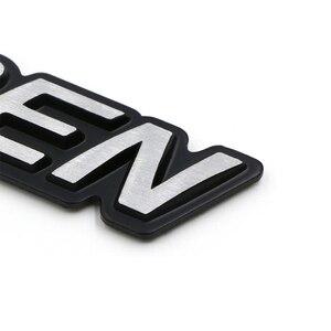 Image 5 - 3D алюминиевые детали, эмблема Mugen, хромированный логотип, задний знак, стикер для багажника автомобиля, Стайлинг Для Mugen Honda Civic Accord CRV Fit и т. Д.
