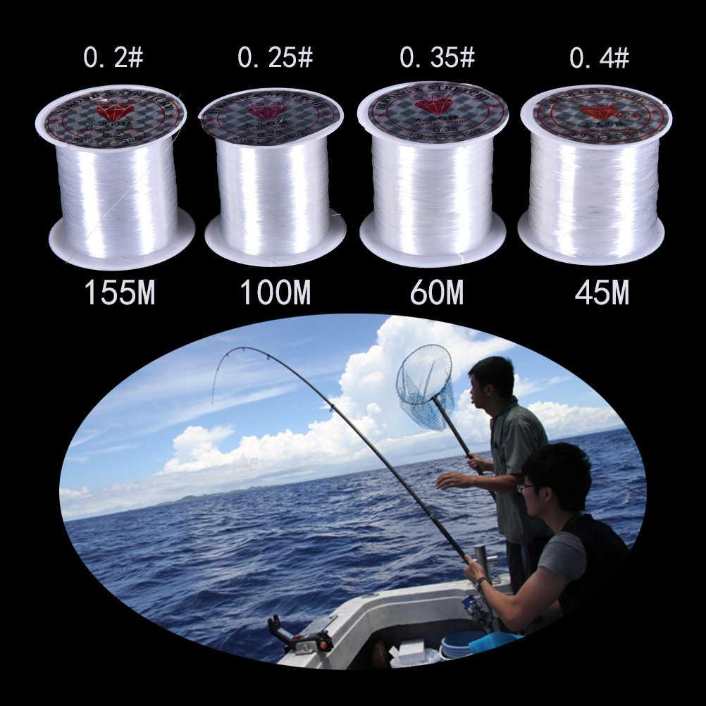 Vòng Tay Đính Hạt Cá Dòng Siêu 100% Trắng Dây Câu Nylon Dụng Cụ Câu Cá