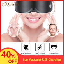 Electric Eye Massager Muti Vibration Wrinkle Fatigue Relieve Eye Mask Cover Tired Eyes Massage Eyewear Glasses Eyes Care Device(China)