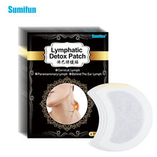 Sumifun 6 шт лимфатической детоксикации патч Горячая шеи против