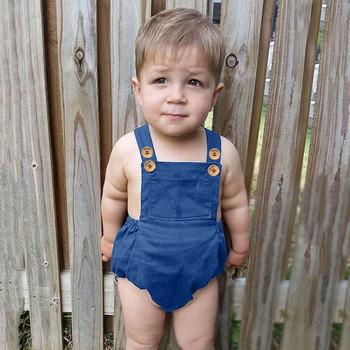 Baby Boy Girl letni kombinezon jednoczęściowy 2021 noworodka jednolita z marszczeniami pasek kombinezon dresowy kombinezon na ramiączka Casual Baby Body Onesie tanie i dobre opinie ISHOWTIENDA CN (pochodzenie) Lato Dziecko dla obu płci COTTON moda W wieku 0-6m 7-12m 13-24m Bodysuits Stałe Kwadratowy kołnierz