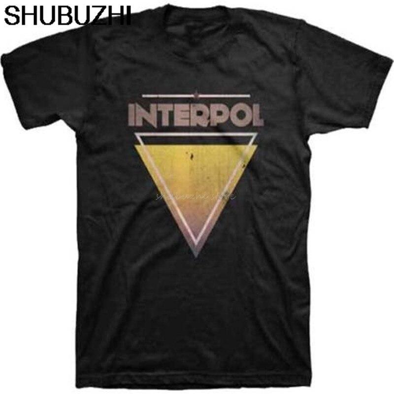 Popular New Interpol Marauder Rock Band Album T-Shirt S-5XL Men Woman