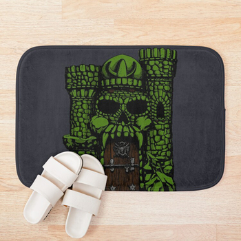 By the power of Greyskull Bath Mat Mat Decoration Home Carpets Cartoon Rug Bedroom Floor Mats Bath Plush Rugs Doormat NEW image