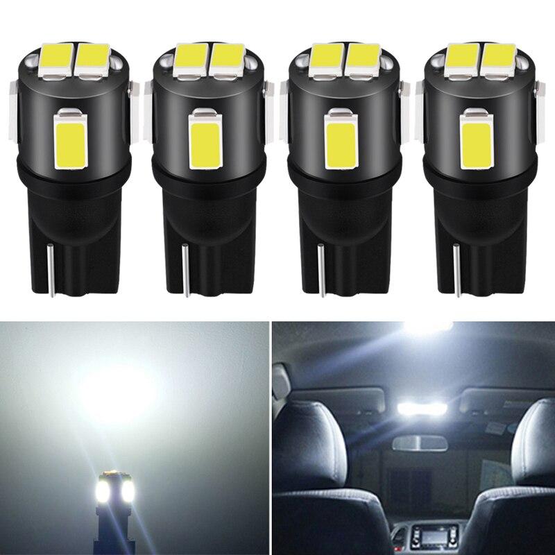 4pcs W5W T10 LED Interior Car Lights For Opel Astra H J G Corsa D C Insignia Vectra B Zafira Mokka Meriva Leds Auto 12V DC