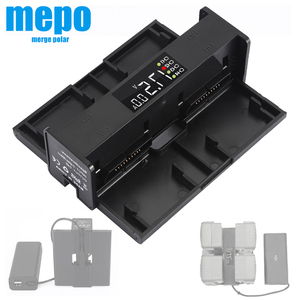 Image 1 - 4 in 1 Mavic 2 Battery Charging Hub for DJI Mavic 2 Pro Charger Mavic 2 Zoom Adapter Drone Digital LED Display Charge Port