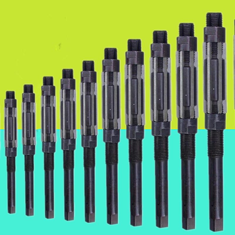 1PC 6.25-84mm Adjustable Hand Reamer HSS Size Range Cutting Tools 6 8 10 12 15 20 25 30 35 40 45 50 55 60 65 70 75 80 84mm