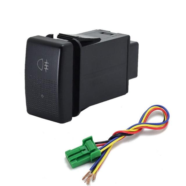 1PC fan speaker Front Fog Light Rearview mirror folding Driving recorder radar Switch Button For Mazda 5