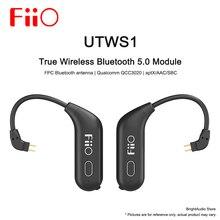 Fiio UTWS1 oryginalne słuchawki bezprzewodowe Bluetooth moduł odpinany zaczep na ucho słuchawkowe 0.78mm aptX/AAC/SBC mikrofonem wodoodporne