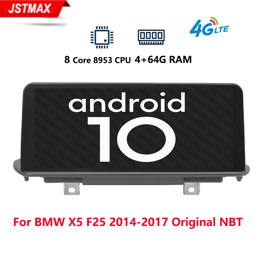 """10.25"""" IPS Android 9.0 8core Car Screen Monitor multimedia For BMW X1 F48 X2 2016 2017 GPS Navi Receiver WIFI 4G Media BT 4+64G"""
