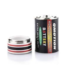 1 sztuk schowane pieniądze pojemnik na monety przypadku baterii tajne Stash Diversion bezpieczne pudełko na pigułki pudełka do przechowywania baterii nowy wysokiej jakości