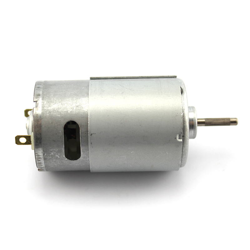 <font><b>550</b></font> Mini <font><b>Motor</b></font> 12 V Volt High Speed 16000rpm Electric <font><b>Motors</b></font> Shaft length 17mm DC 6V-<font><b>12V</b></font> Moter DIY Drill Garden Tool Toys model image
