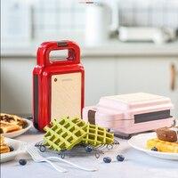 600 w 전기 와플 메이커 다기능 샌드위치 메이커 아침 와플 기계 타코 야키 팬케이크 토스터 베이킹 머신 220 v