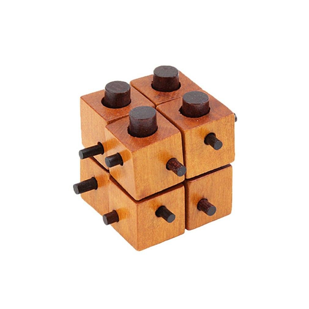 Children's Intelligent Toys Gifts Creative Wooden Brain Teaser Locks Educational Toys Various Types Bringing Fun