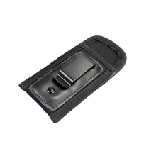 Tactical Gun Magazine Pouch Mag Bag Nylon Metal Clip Pistol Double Stack for Glock 17 19 21 Beretta 92 XD Holster