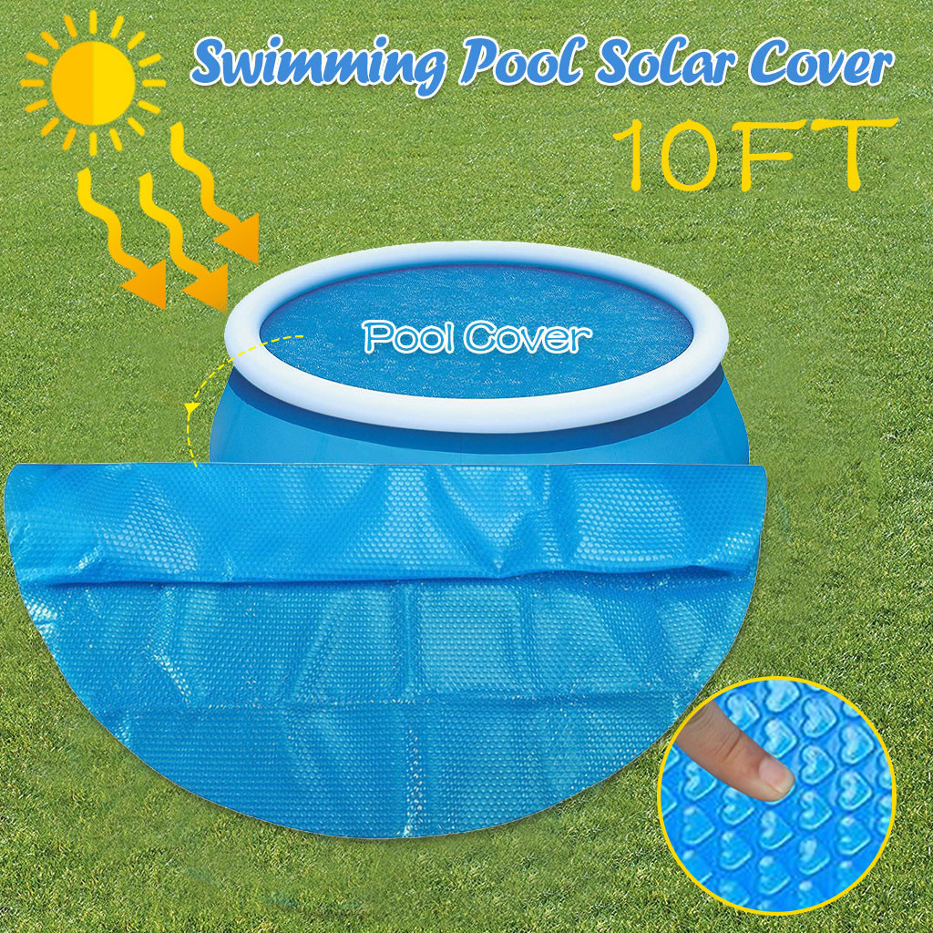 Foot Solar Pool Cover Round Pool Cover Protector Keep Water At A Consistent Temperature Protection Swimming Pool Accessories 5W3