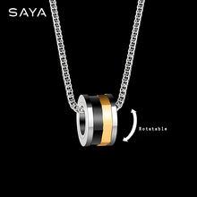 Мужской кулон вольфрамовое ожерелье индивидуальная цепочка на