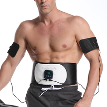 EMS Abdominal Muscle Fitness Trainer Electric Body Massager Slimming Waist Belt Weight Loss for Man and Woman