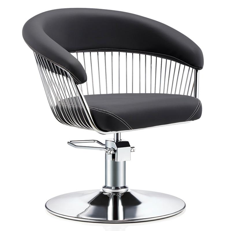 Chair Hair Salon Special Stool Can Lift Hair Cut Chair High-end Minimalist European Barber Shop