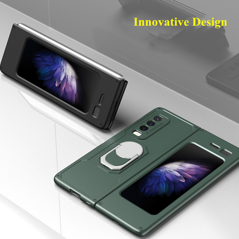 Armor Ring Holder Case For Samsung galaxy Z Fold Series