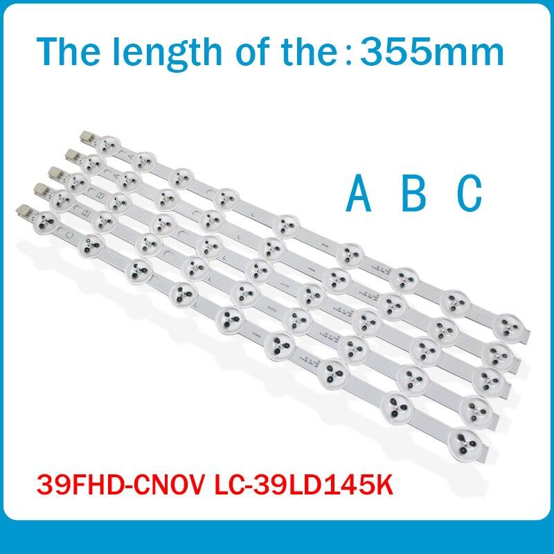 355mm LED Backlight Lamp Strip ABC Type For LG 39'' TV 39FLHY168D VES390UNDC-01 VES400UNDS-02 39PF3025D 39FHD-CNOV LC-39LD145K