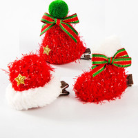 10pcs Christmas Dog Grooming Product Pet Dog Cat Hair Accessories Hair Clips Cute Hairpins Pet Grooming Supplies